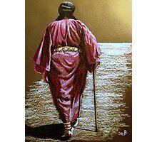 Navajo Woman...Long Walk Home... Photographic Print