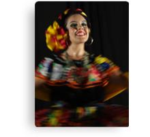 Dancing - Colors And Movements - Bailando - Colores Y Movimientos Canvas Print