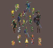 Legend of Zelda Links Kids Clothes