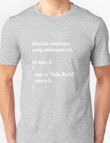 Hello World! C++ T-Shirt