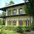 Hemmingway's House Key West by John Maxwell