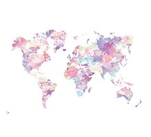 Continents Photographic Print