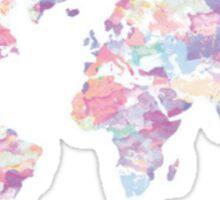 Continents Sticker
