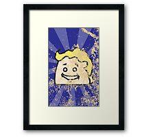 Fallout 4 Distressed CatBag Framed Print
