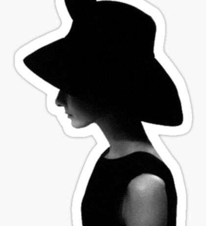 Hepburn Sticker