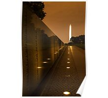Vietnam Washington Memorial Poster