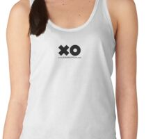 XO BABE OFFICIAL LARGE WEB BLACK Women's Tank Top