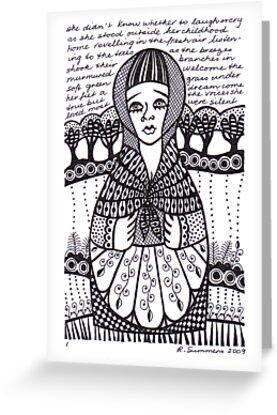 babushka 1 by Rita Summers