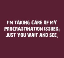 No more Procrastination by Buleste