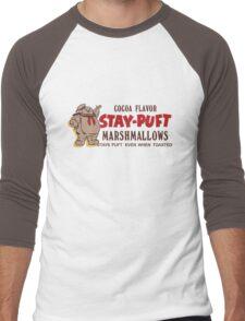 Stay Puft Branding (Cocoa Flavor) Men's Baseball ¾ T-Shirt