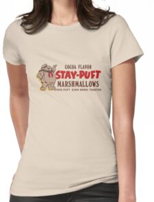 Stay Puft Branding (Cocoa Flavor) Womens Fitted T-Shirt