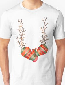 Watercolor Gloves  T-Shirt