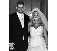 Ryan and Crissy McClintock Wedding II Photographic Print