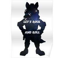 Starfox | Let's Rock and Roll Poster