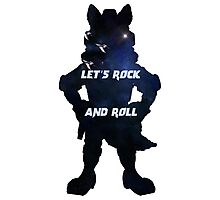 Starfox | Let's Rock and Roll Photographic Print