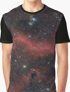 Pink Galaxy Graphic T-Shirt
