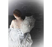 Afternoun Lace Photographic Print