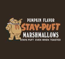 Stay Puft Branding (Pumpkin Flavor) by ghostosaurus