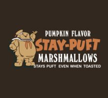 Stay Puft Branding (Pumpkin Flavor) by ghostosaurus