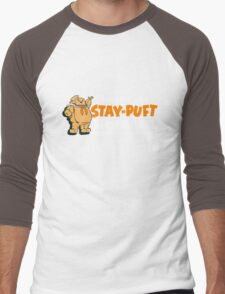 Stay Puft Branding (Pumpkin Flavor) Men's Baseball ¾ T-Shirt