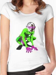Riddler Women's Fitted Scoop T-Shirt