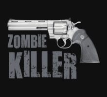 zombie killer black and white by red-rawlo