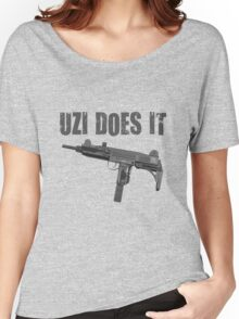uzi does it Women's Relaxed Fit T-Shirt