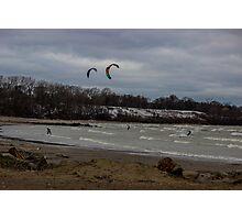 Kite Skiing Photographic Print