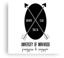University of Mirkwood Canvas Print