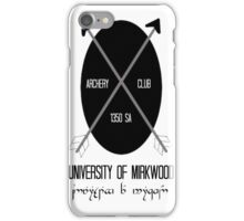 University of Mirkwood iPhone Case/Skin