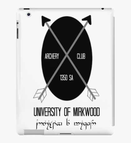 University of Mirkwood iPad Case/Skin