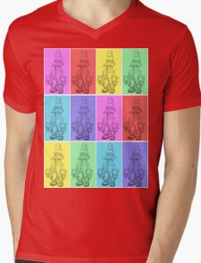 PopArt Vivi Mens V-Neck T-Shirt
