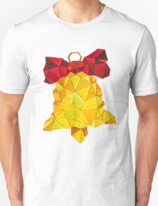 Watercolor Low Poly Bell T-Shirt
