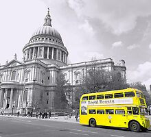 Yellow Routemaster by DavidWHughes