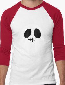 Cute Lifeless Ghost Men's Baseball ¾ T-Shirt