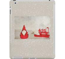 Santa And His Sleigh iPad Case/Skin