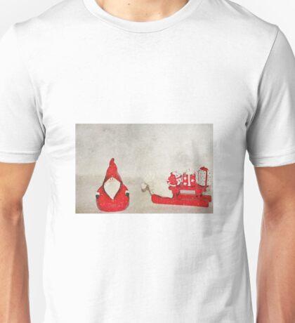 Santa And His Sleigh Unisex T-Shirt