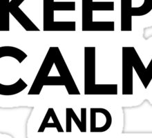 Keep Calm and Love JIMMY Sticker