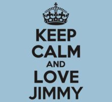 Keep Calm and Love JIMMY Kids Clothes