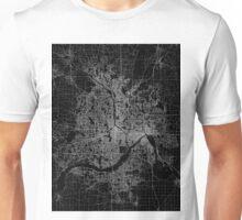 Minneapolis map Minnesota Unisex T-Shirt