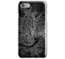 Minneapolis map Minnesota iPhone Case/Skin