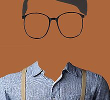 Hipster Brown Suspenders by Brit Sigh