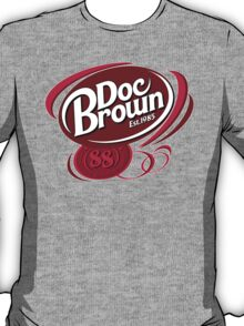 BACK TO THE FUTURE DOC BROWN COLA!! T-Shirt