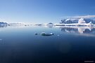 Reflecting on Antarctica 050 by Karl David Hill