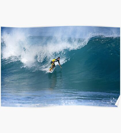 Miguel Pupo at Pipe Masters Poster