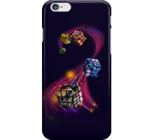 Rubik's Cubism iPhone Case/Skin