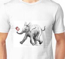 Baby Peace Elephant Unisex T-Shirt