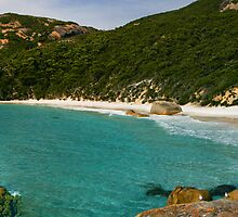 Little Beach - Two Peoples' Bay, Albany W.A. by Sandra Chung