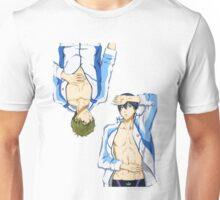 Sexy Haruka and Makoto! Kyaaaa!! Unisex T-Shirt
