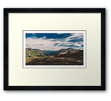 Alp Austria - Mountain Framed Print